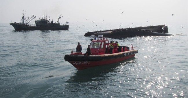 S. Korea stops search for missing in overturned Chinese boat