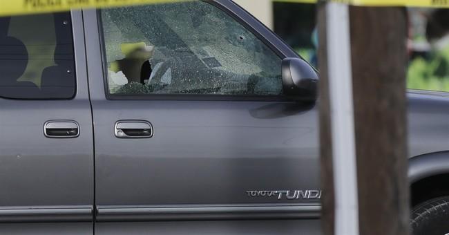 The Latest: Investigators still at Houston shooting scene