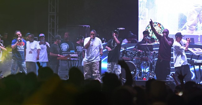 Drone to the face doesn't stop Bone Thugs-n-Harmony show
