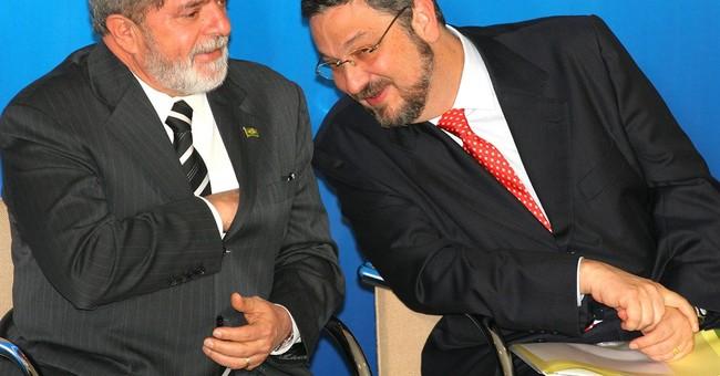 Brazil arrests Silva's ex-finance minister in graft probe