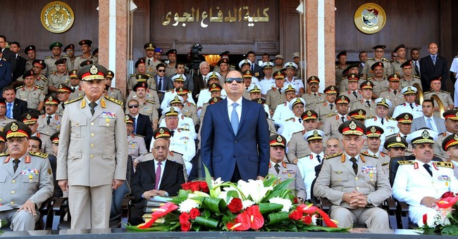 Egypt's president defends military's economic role
