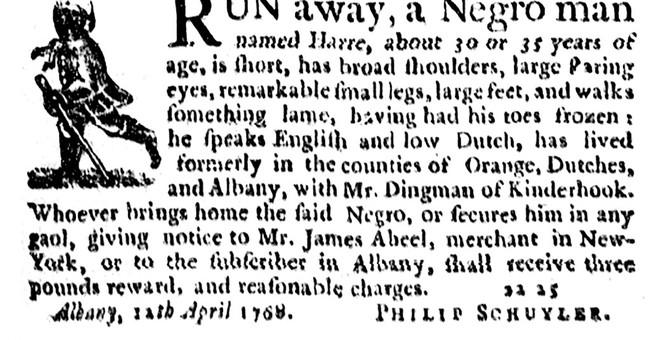 History of slavery in NY examined through runaways notices