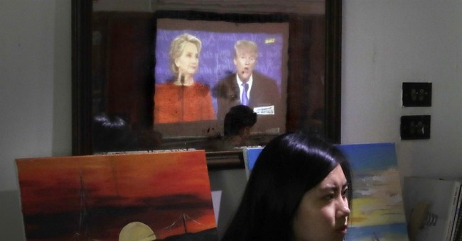 People around the world react to first Trump-Clinton debate