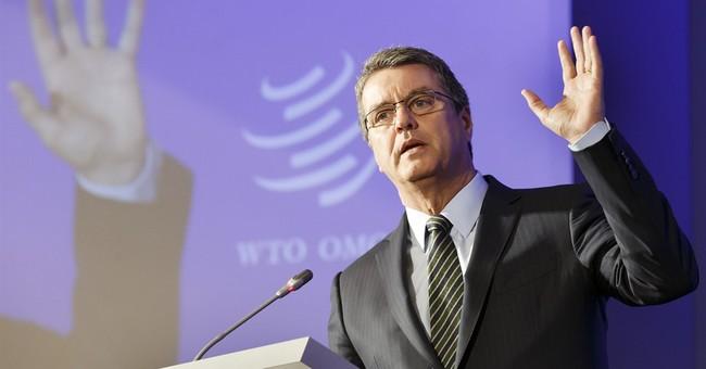 'Dramatic slowing' seen in global trade, as rhetoric rises