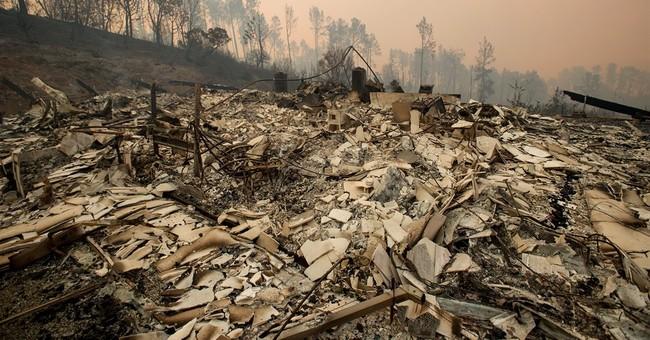 California heat wave intensifies wildfire threatening homes