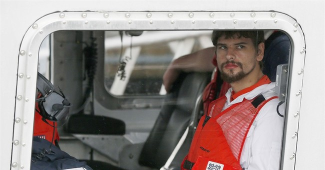 Man rescued at sea tells Coast Guard of search for mother