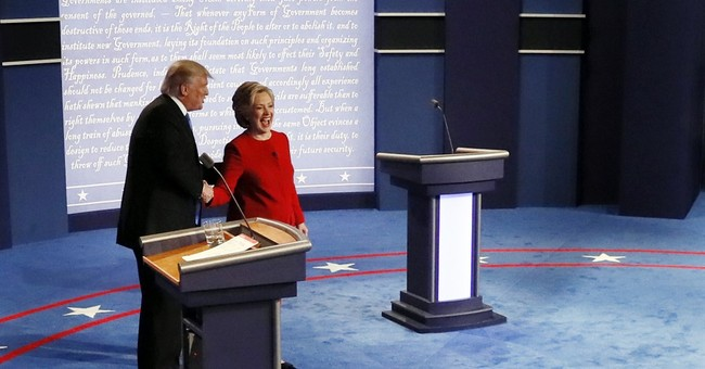 Parting shots: He hits her on stamina; she pounces in retort