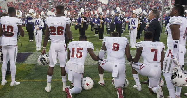 Anthem protest opportunities are limited in college football