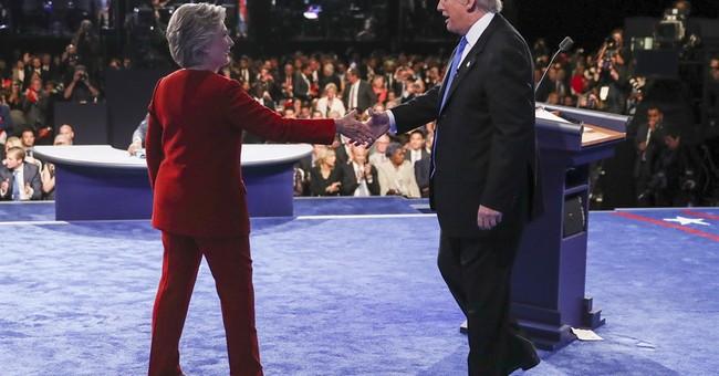 AP FACT CHECK: Trump, Clinton deny their own words in debate