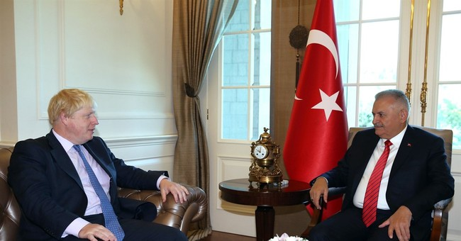 Britain's Johnson: Rude poem was not brought up in Turkey