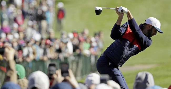 It's Dustin Johnson's time to lead the Americans