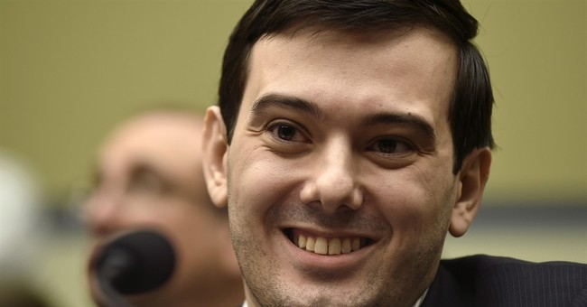 Martin Shkreli raffling chance to punch him in face