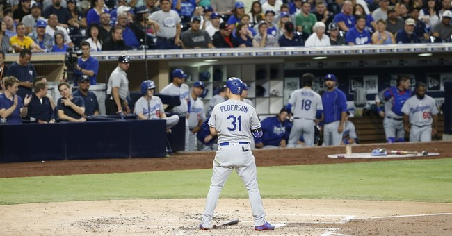 Rookie Renfroe hits slam, 3-run HR; Padres beat Dodgers 7-1