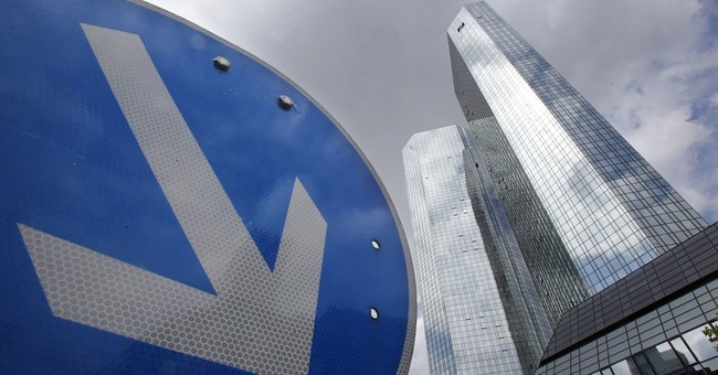 Deutsche Bank shares swing wildly amid stability concerns