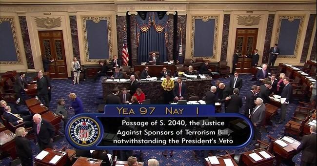 Senate Democrats refuse to back Obama on Sept. 11 bill veto