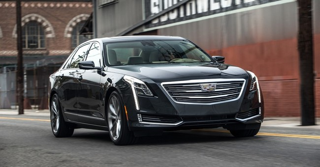 Cadillac's newest sedan, the CT6, provides smooth ride
