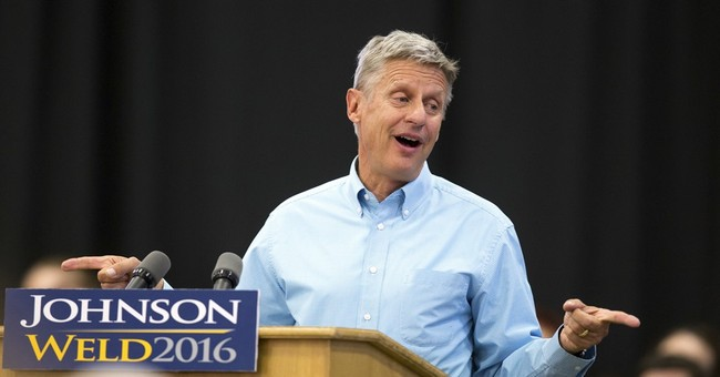 Brain freeze? Gary Johnson can't name favorite world leader