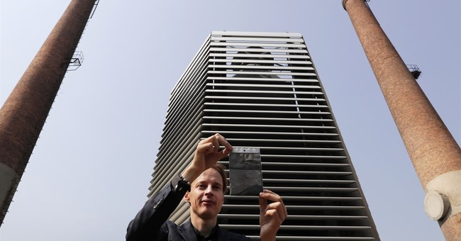 Beijing's latest answer to pollution: the Smog Free Tower
