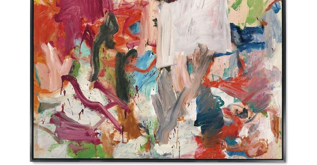De Kooning painting going on the auction block in the fall