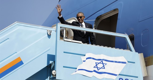 Obama to Bill Clinton after Peres funeral: 'Let's go!'