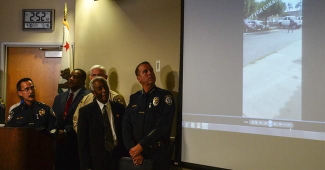 California police show videos of fatal shooting of black man
