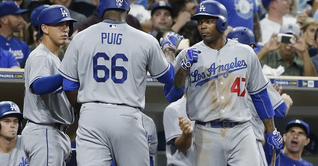 Pederson leads Dodgers to 9-4 victory over Padres