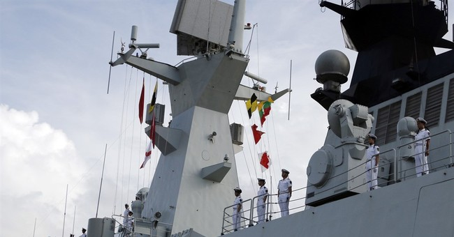 Chinese frigates pay port call at Myanmar's old capital