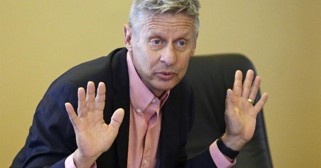 Doctor's letter says Gary Johnson 'extremely physically fit'