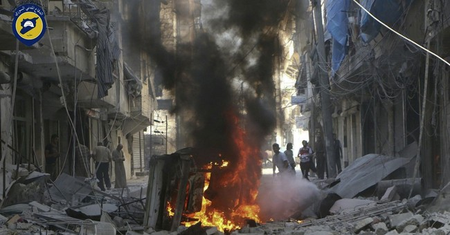 Syrian monitor: Russian airstrikes killed 9,300 in past year