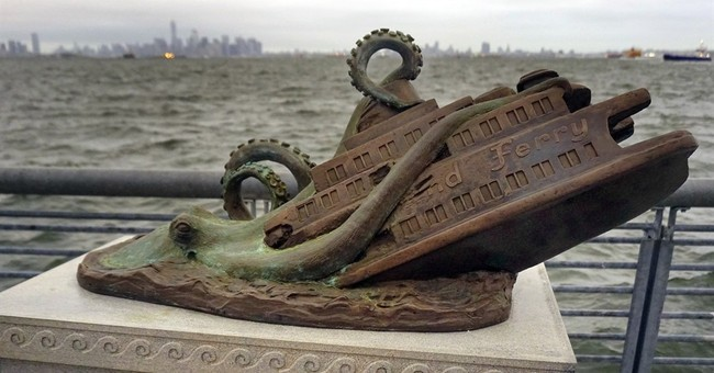 Tall fish tale: Tourists fooled by octopus ferry disaster
