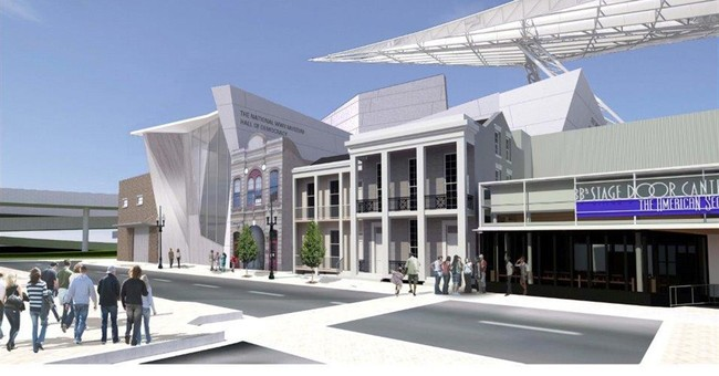 Construction underway and planned for World War II Museum