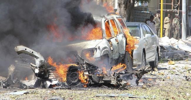 Somali police: Car bomb kills 2 at restaurant in Mogadishu