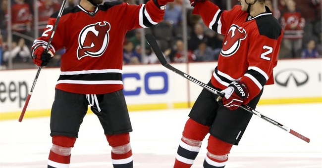 Hall, Zacha, Moore score in 2nd to help Devils beat Rangers