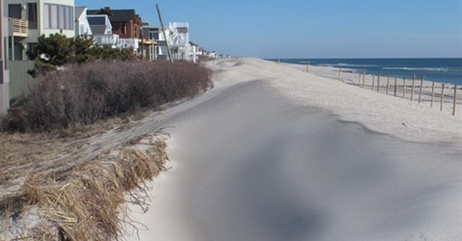 New Jersey coast to get disputed, long-delayed sand dunes