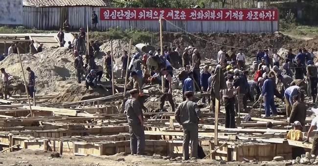 Red Cross: As winter nears, N. Korea flood area needs help