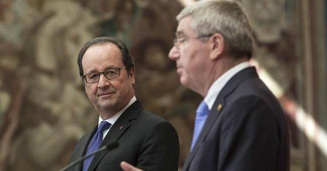 IOC president 'impressed' by Paris 2024 bid