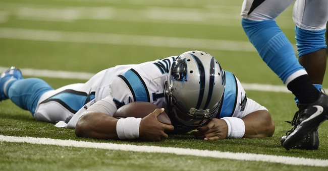 Newton leaves game with concussion symptoms, doesn't return