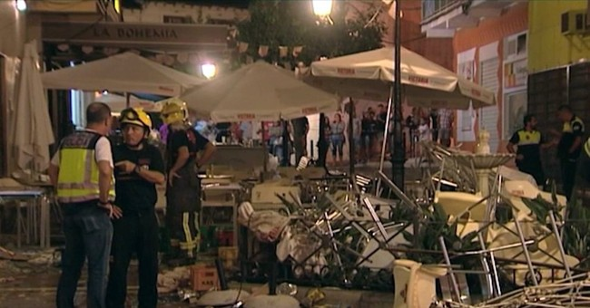Explosion at cafe injures 90 at festival in southern Spain