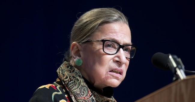 Justice Ginsburg rides celebrity wave, releases anthology