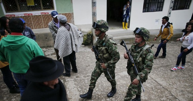 A look at Colombia's half-century-long rebel conflict