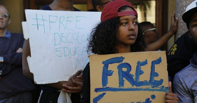 South Africa's Zuma says protests put universities in peril