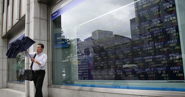 Asian stocks mostly higher, China and Korea markets closed