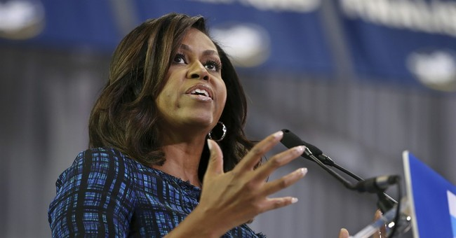First lady to chat via Skype with girls around the globe