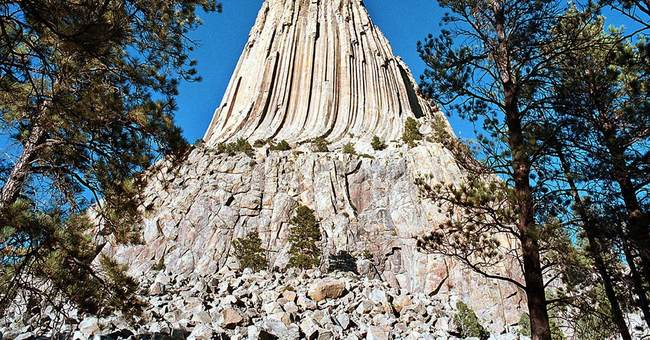 Devils Tower: Legends surround giant rock butte's formation