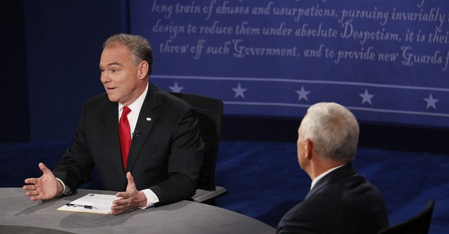 The Latest: Updates from the vice presidential debate