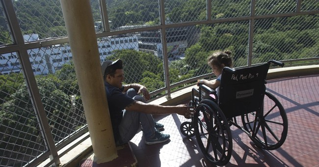 A child's scraped knee a life or death matter in Venezuela