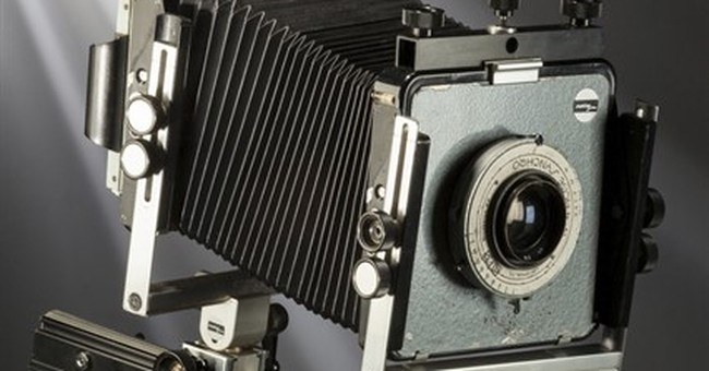 Ansel Adams large format camera going to auction