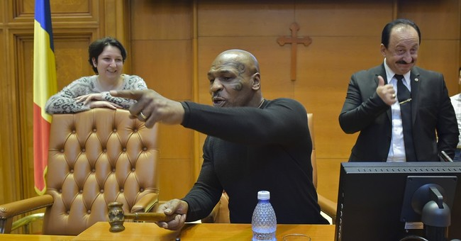 Romania: ex-boxer Mike Tyson calls for order