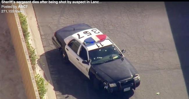 LA sheriff's sergeant killed answering burglary call