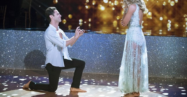 'Dancing with the Stars' pros get engaged on Tuesday show